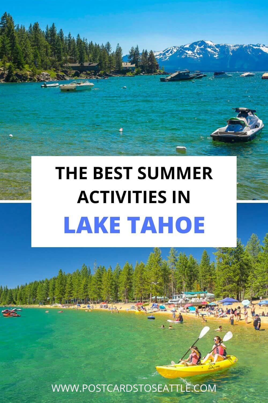 Fun Summer Activities at Lake Tahoe You\'ll Want to Do