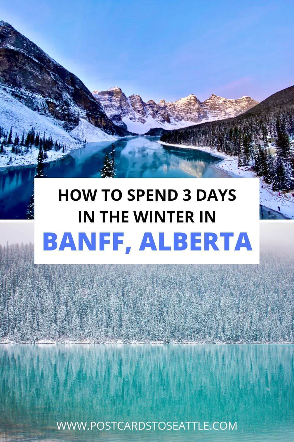 How to Spend 3 Days in Banff in Winter