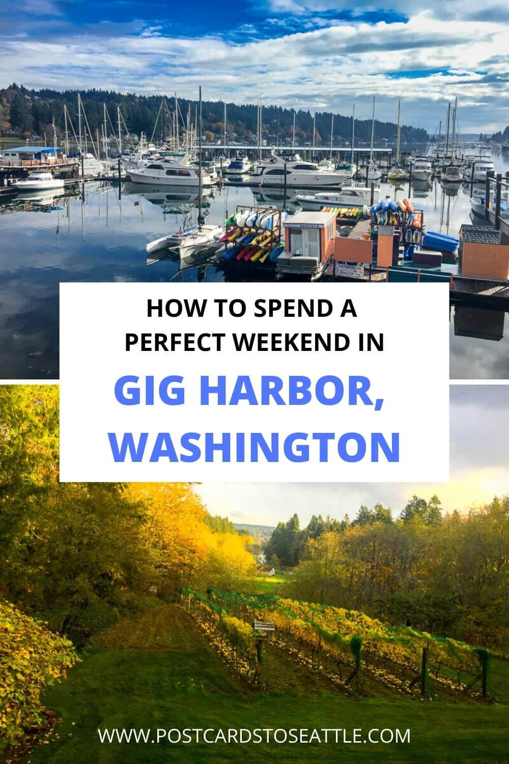 How to Plan a Weekend in Gig Harbor