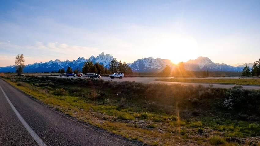 grand teton road trip