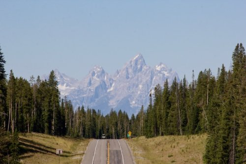 one day in grand teton road