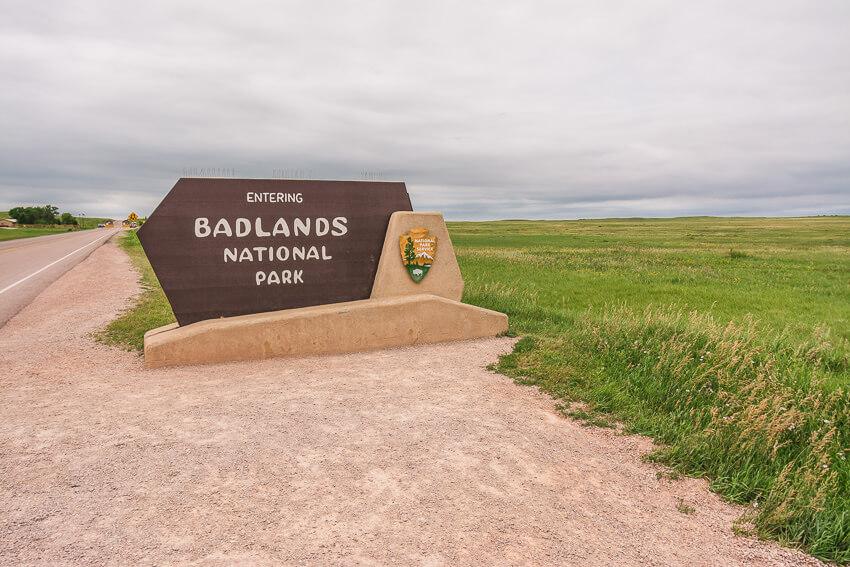 one day in badlands national park