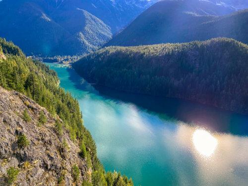 diablo lake north cascades