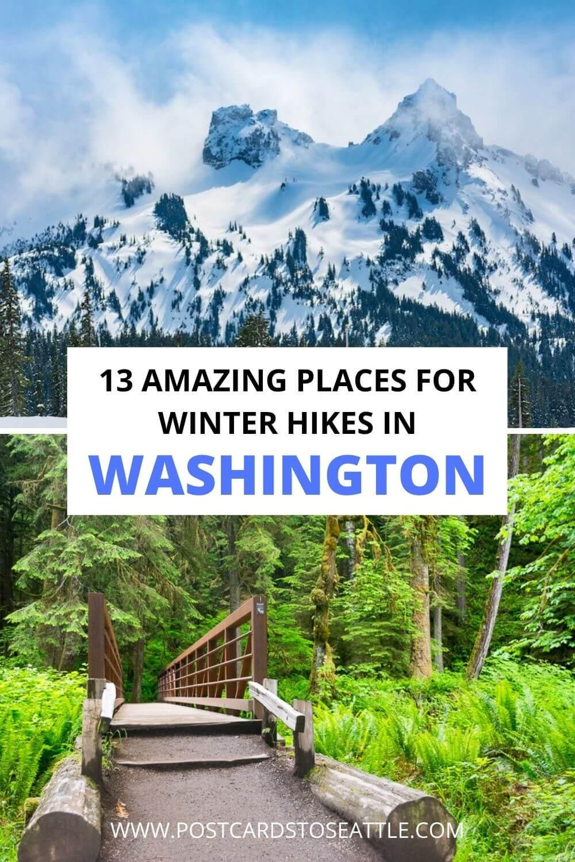 13 Amazing Washington Winter Hikes to Explore All Season