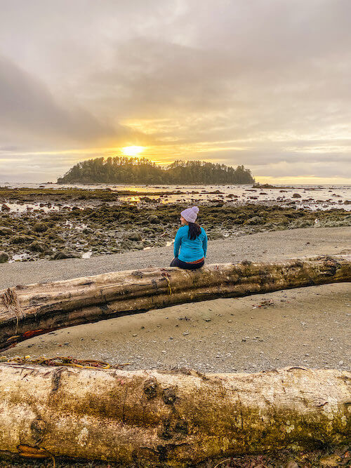 backpacking olympic coast