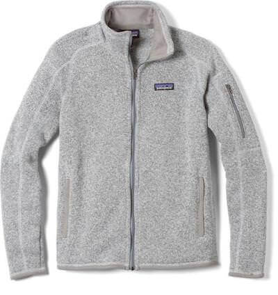 fleece jacket gear for winter hiking