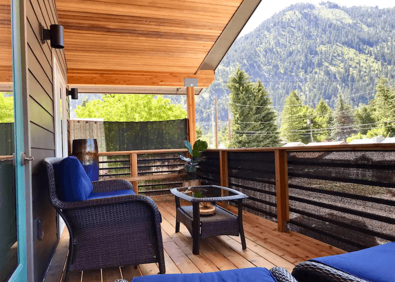 spa retreat Leavenworth airbnbs