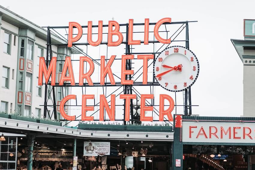 pike place market facts about seattle