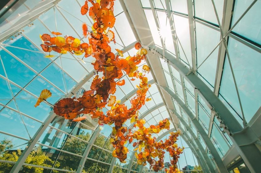 Chihuly Museum Gardens Glass