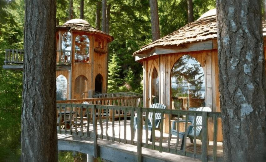 Forest House on Orcas Island