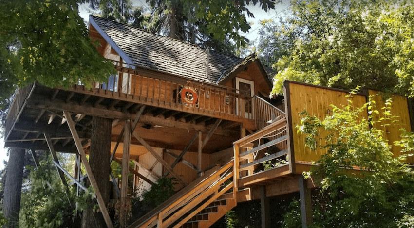 Lake Chelan Treehouse