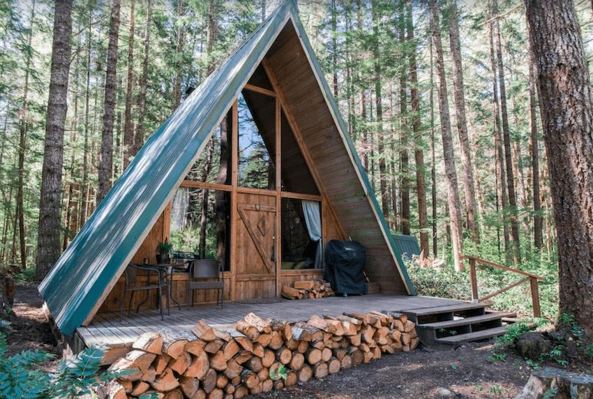 Mount Rainier A-Frame Cabin