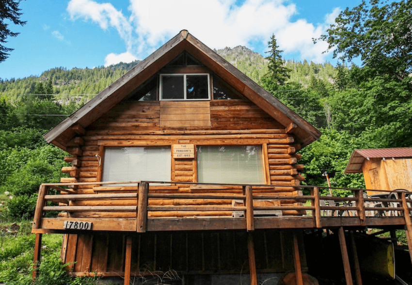 cozy dog friendly cabin leavenworth