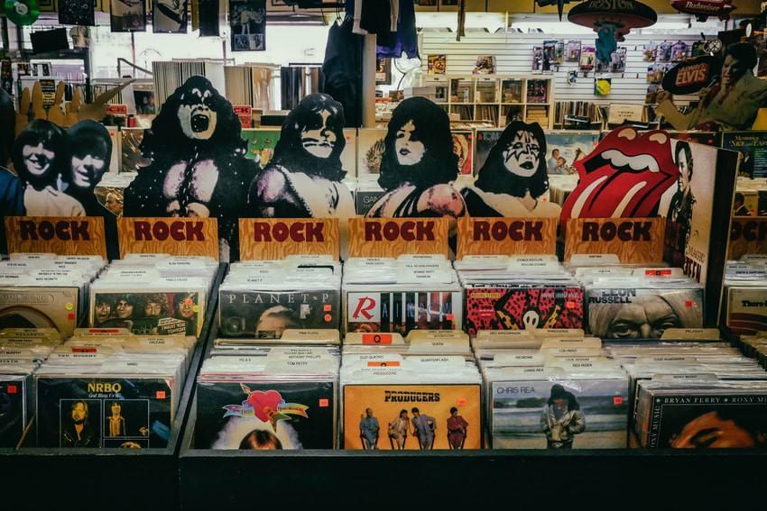 Rock Music Store CDs