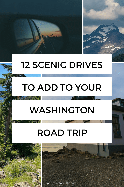 12 Stunning Scenic Drives in Washington State to Plan