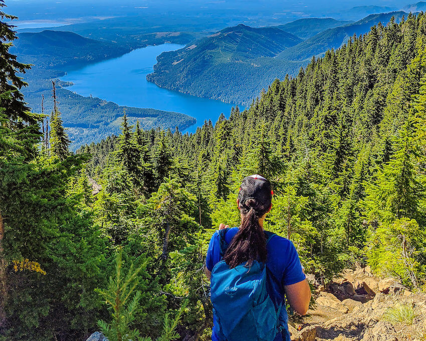 mount Ellinor best hikes in Olympic National Park
