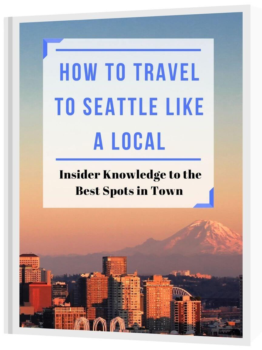 seattle travel guide book cover