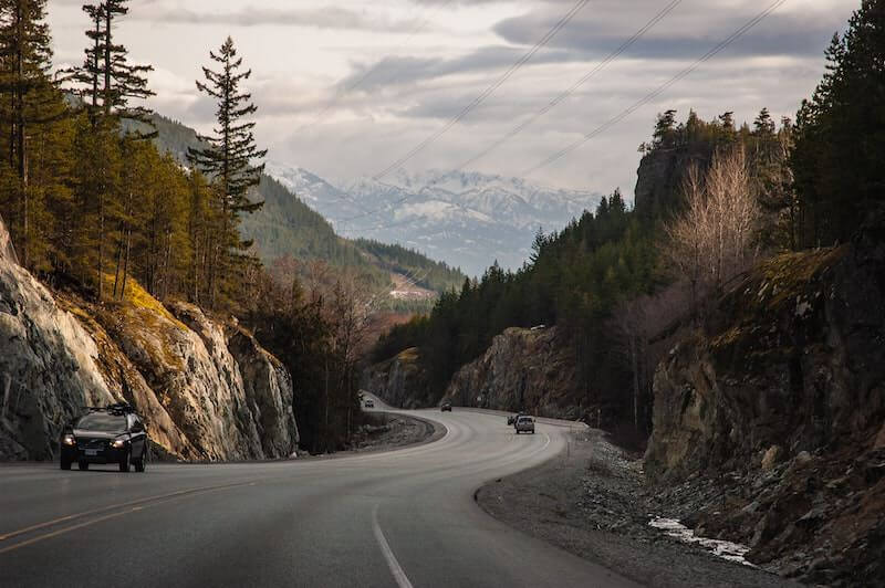 sea to sky highway vancouver to whistler drive