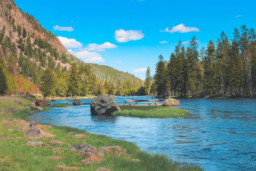 4 days in Yellowstone river