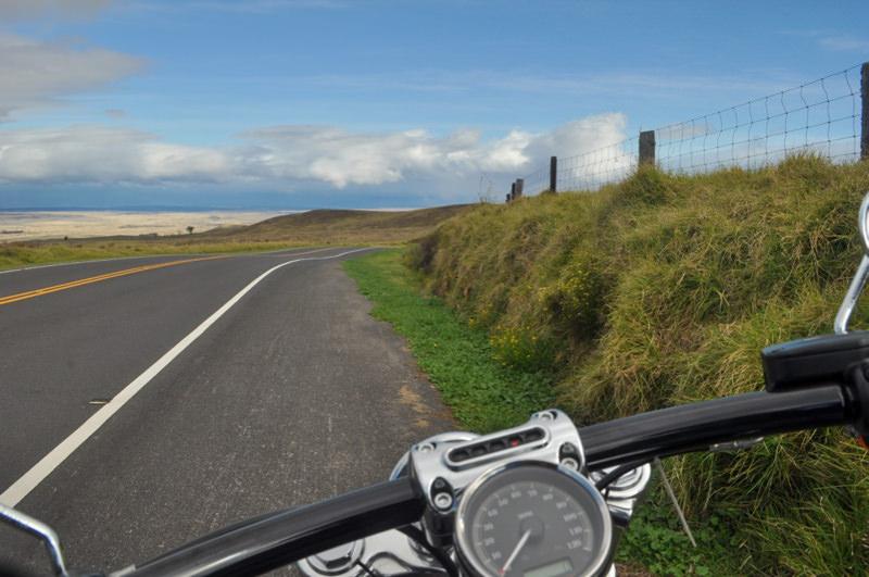 drive around big island motorcycle