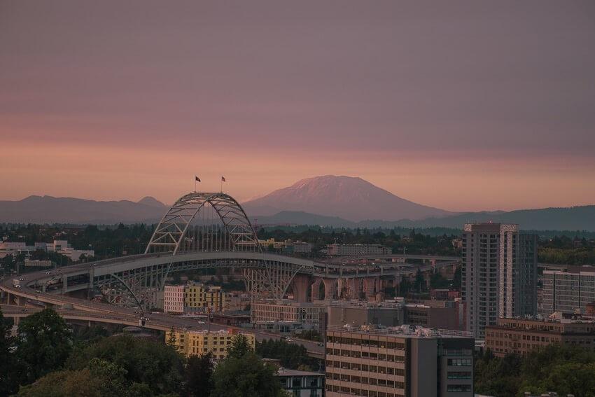 Distant Portland Photo