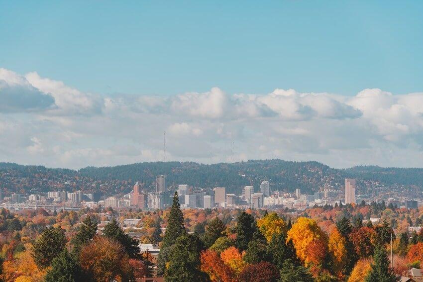 Portland In Fall