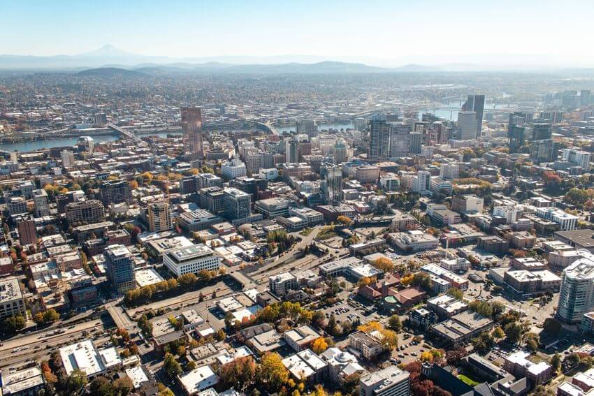 Portland Overhead Shot