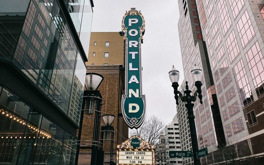 Weekend In Portland Sign