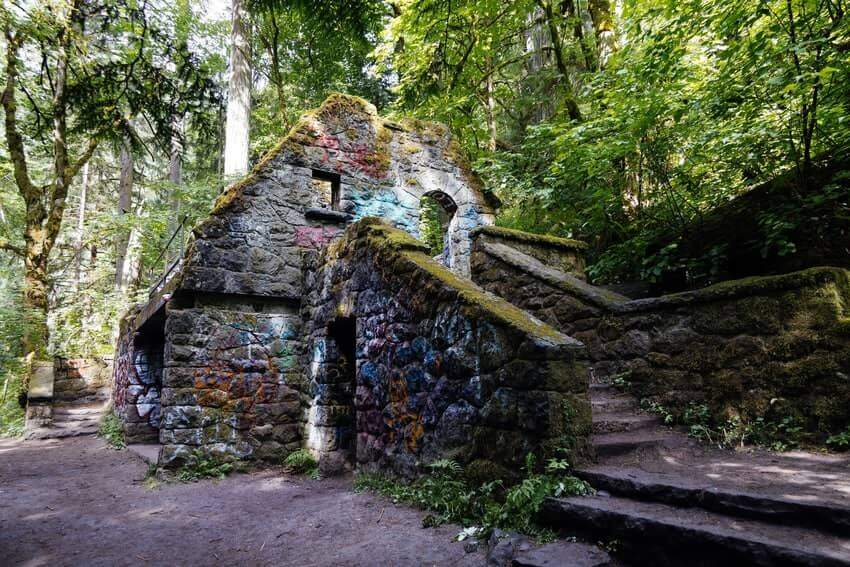Witchs Castle Portland