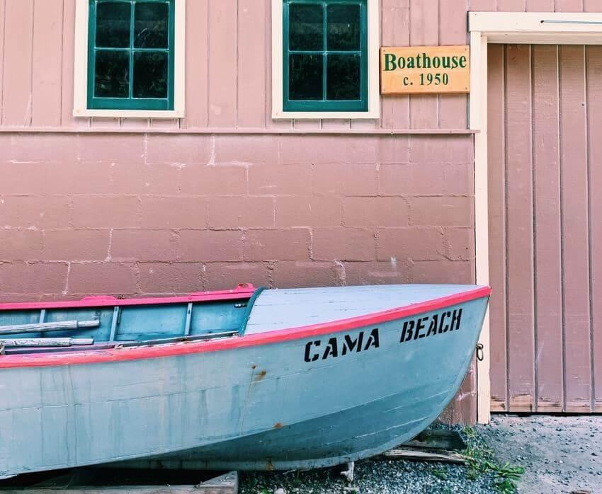 Cama Beach Boat