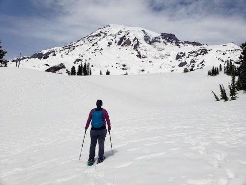 paradise winter hiking washington